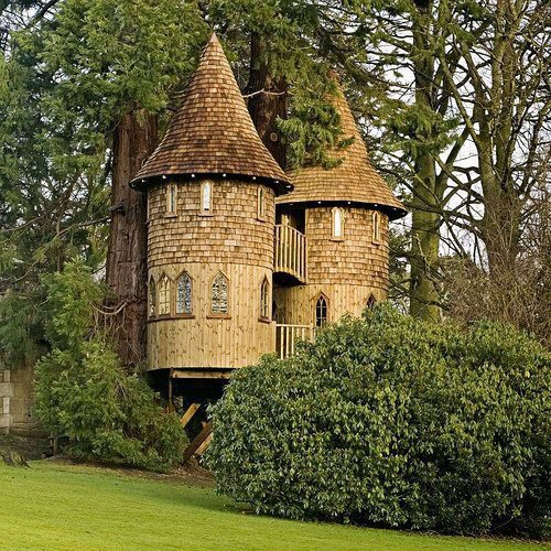 Treehouse, Kilmarnock, Scotland.