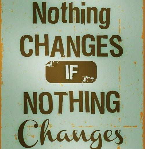 ничего не меняется