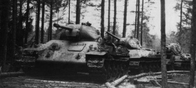 трофейные т-34 3