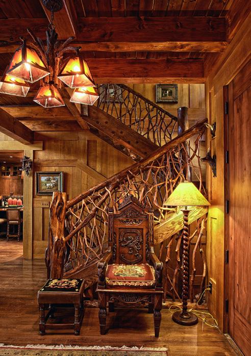 Tree Limb Stairs, North Carolina
