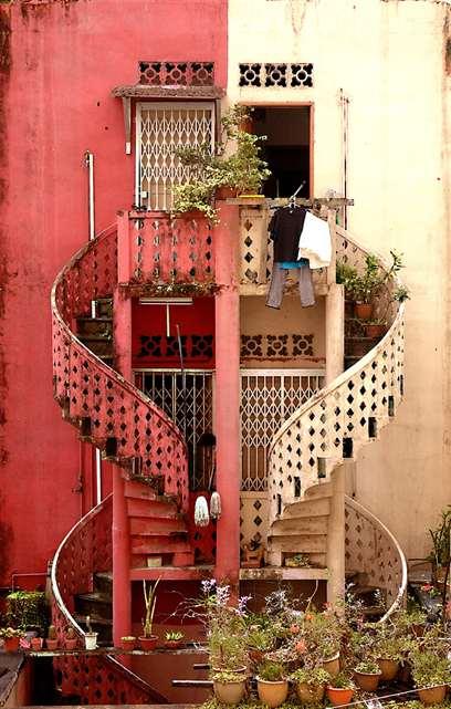 лестница охренеть