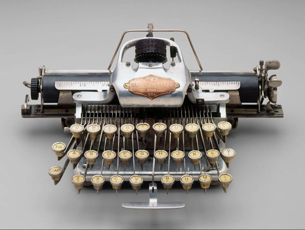 Blickensderfer Model 6 portable typewriter 1906