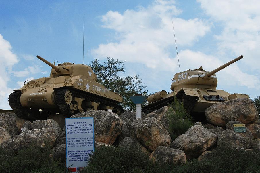 шерман T-34