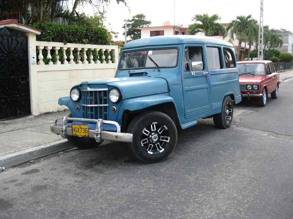 Willys Jeep Station Wagon c кубы же
