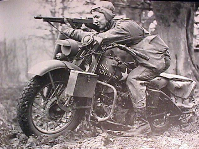 Harley Davidson 'Liberator' Thompson gun