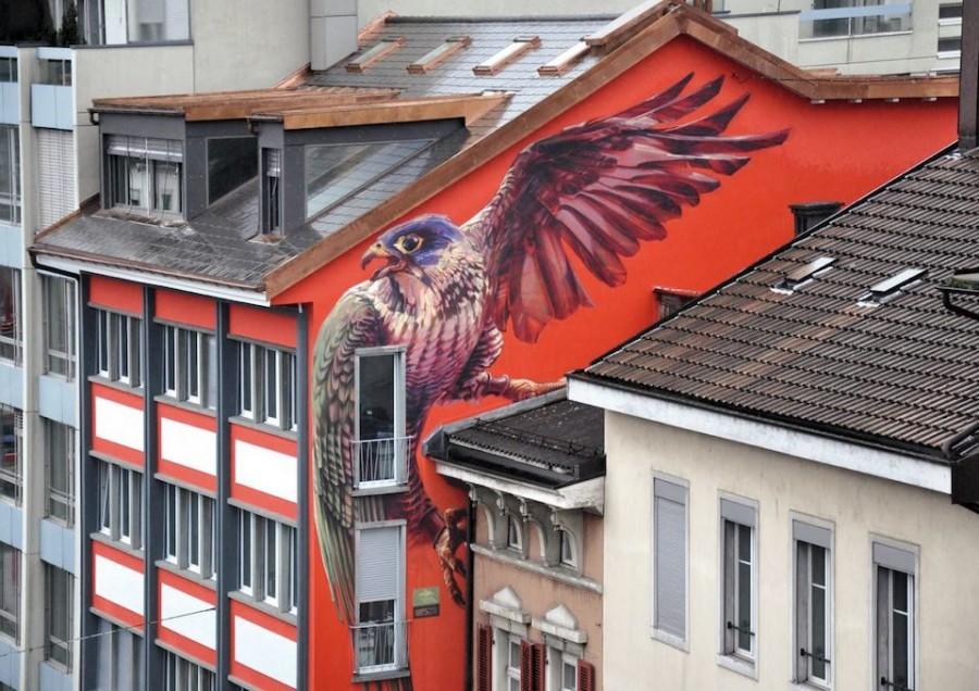 стрит-арт швейцария