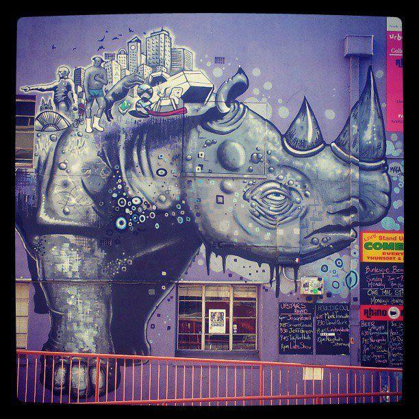 стрит-арт в Аделаиде