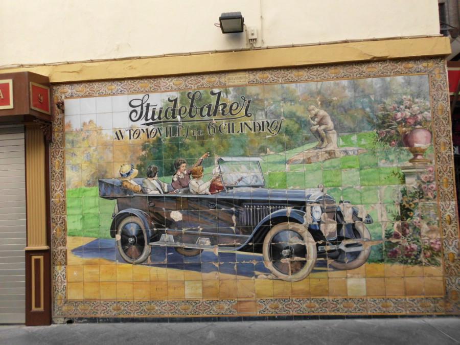Studebaker commercial in Barcelona