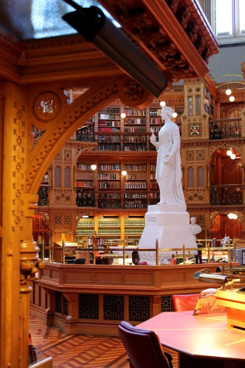 The Library of Parliament in Canada 1