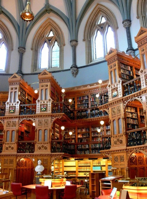 The Library of Parliament in Canada 3