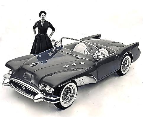 Buick Wildcat, 1954