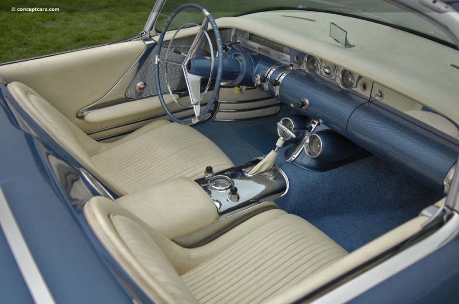 Buick Wildcat, 1954 inside