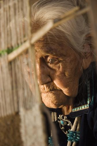 бабка племени Навахо