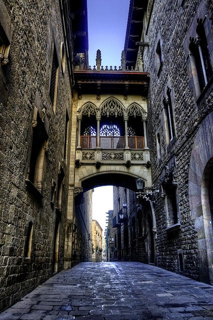 Ancient Bridge, Barcelona, Spain