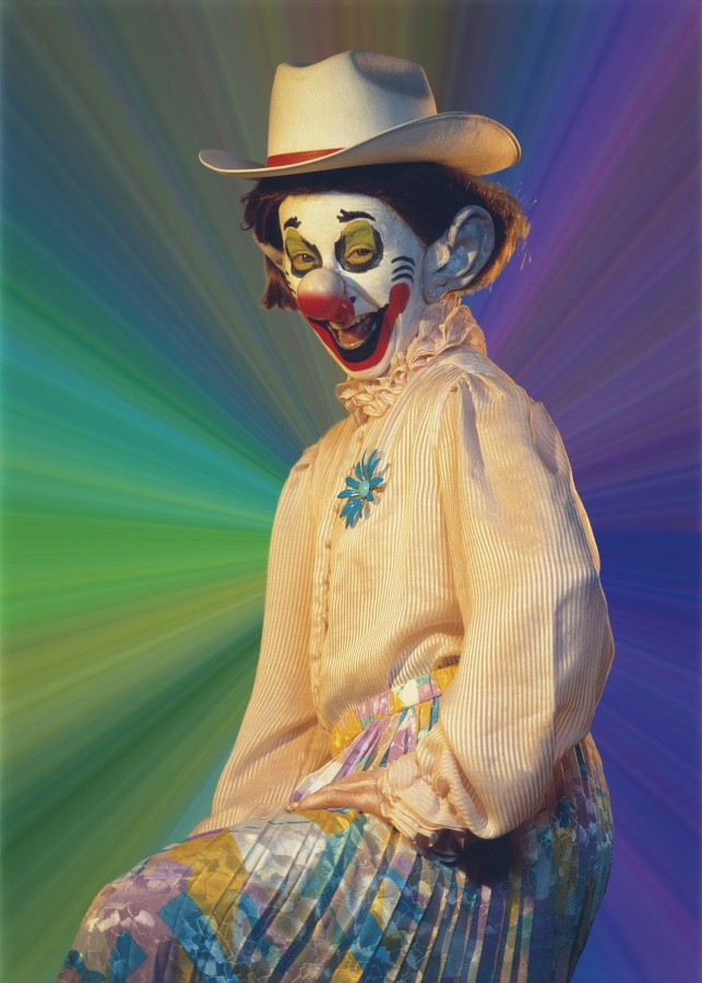 клоунесса синди шерман