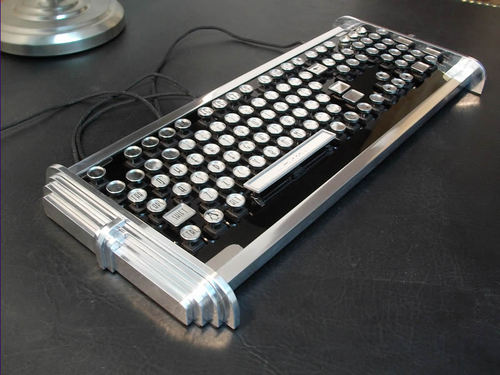 Datamancer's Art Deco Keyboard 1