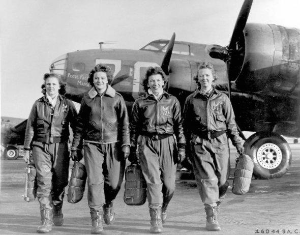 женский экипаж Б-17