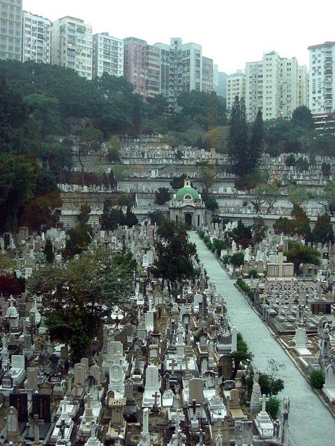 кладбище в гонконге