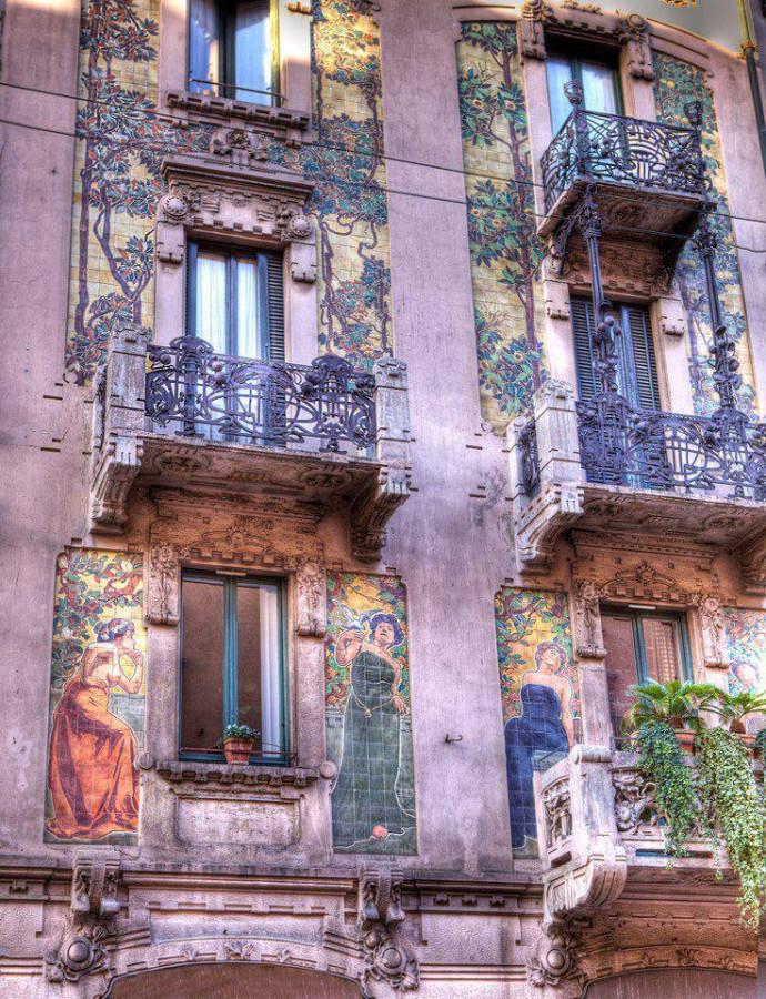 Casa Calimberti in Milano