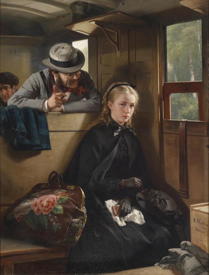 приставание Berthold Woltze 1874