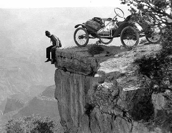1914 Metz Car Grand Canyon