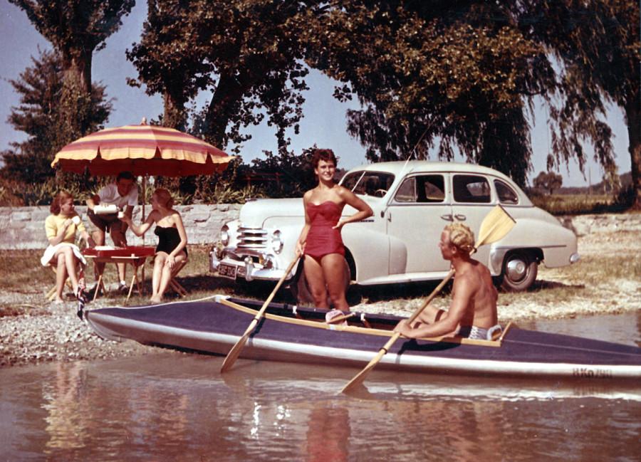 америка 40-х