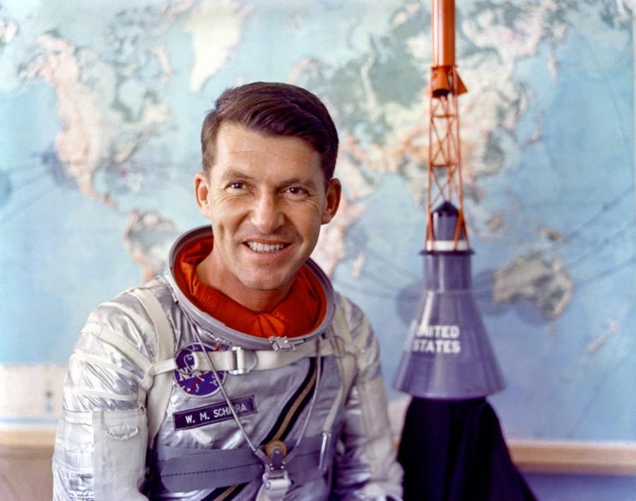 Walter Shirra, Mercury astronaut, 1962