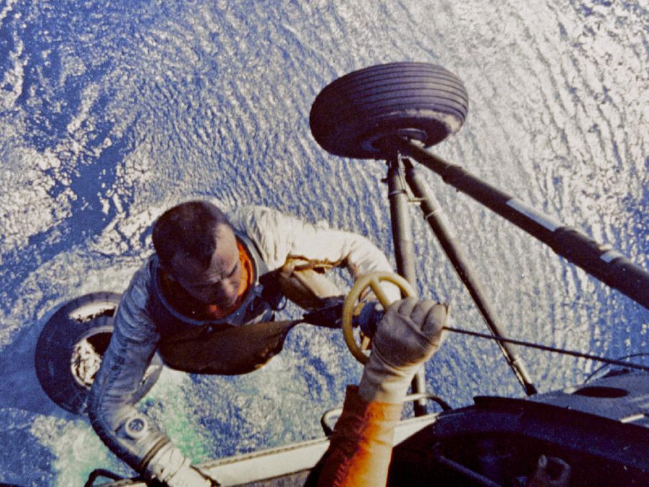 эвакуация астронавта