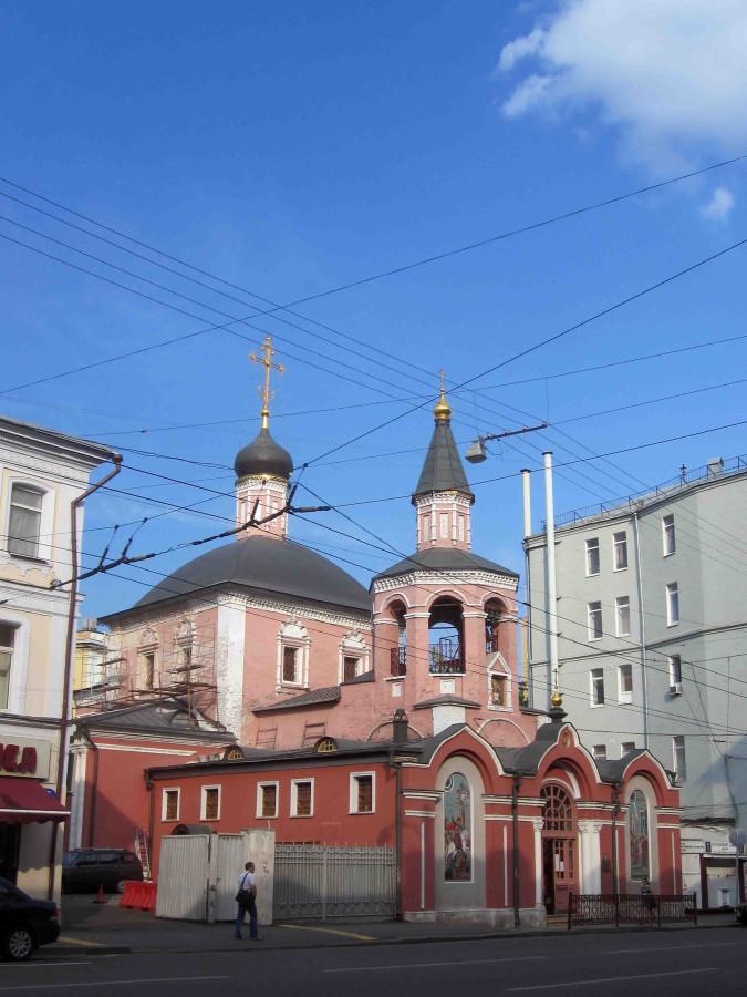 размеры креста и церкви