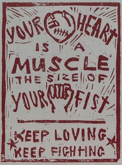 твоё сердце это мускулы