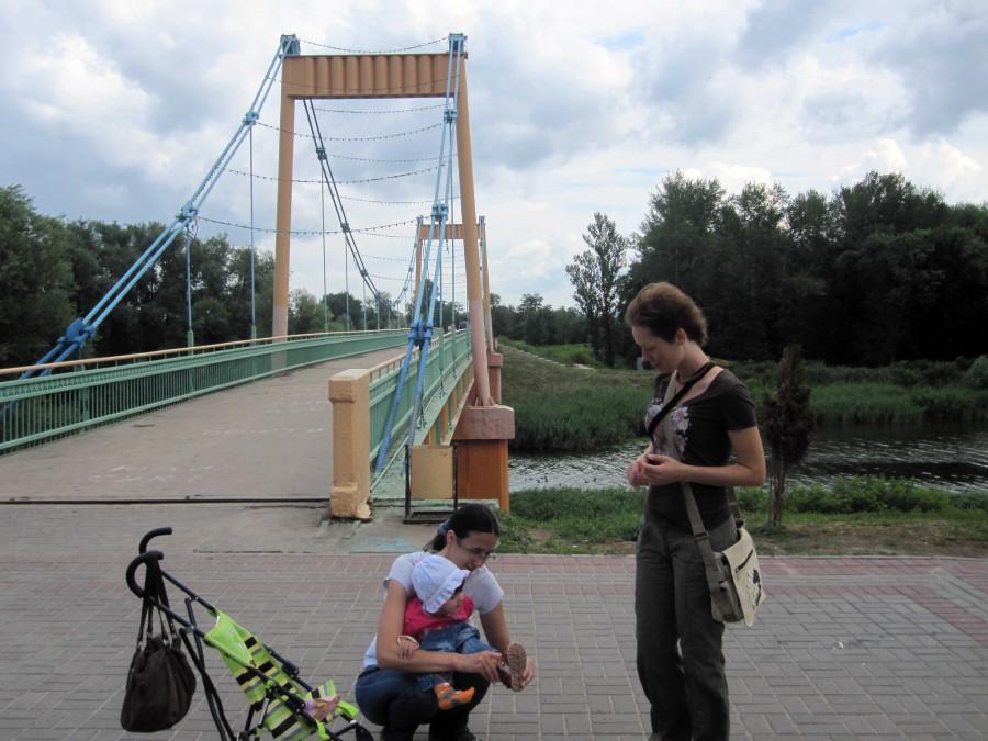прогулка и мостик