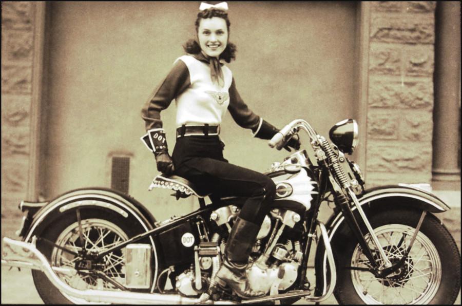 1939 Motor Maids, an all-female biker group.