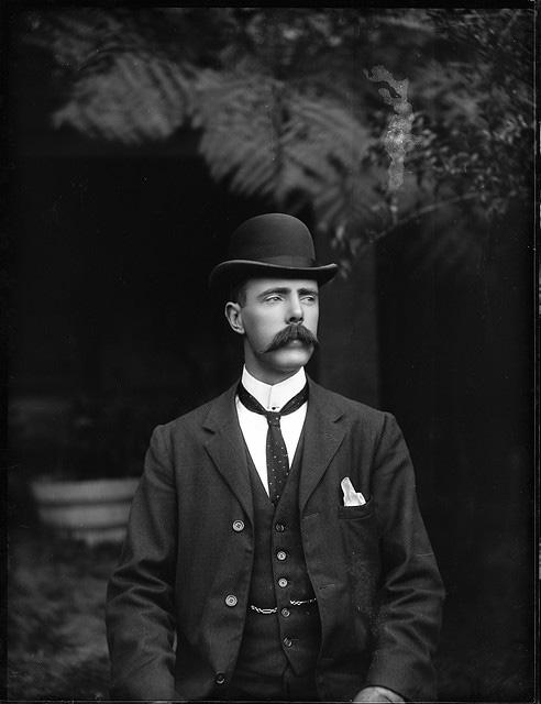 портрет джентльмена