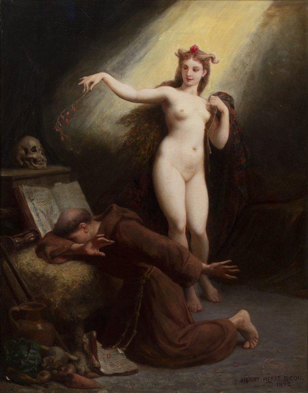 Henri-Pierre Picou искушение Св Антония