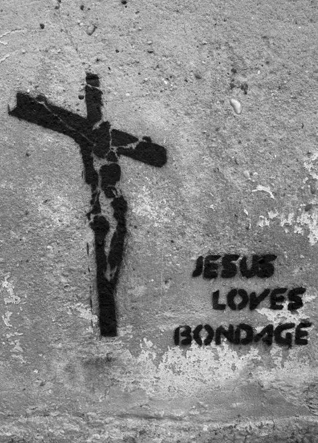 иисус любит бондаж