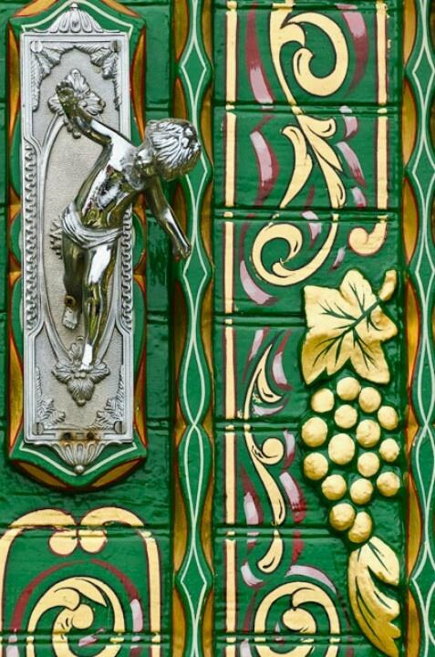двер ручка путти