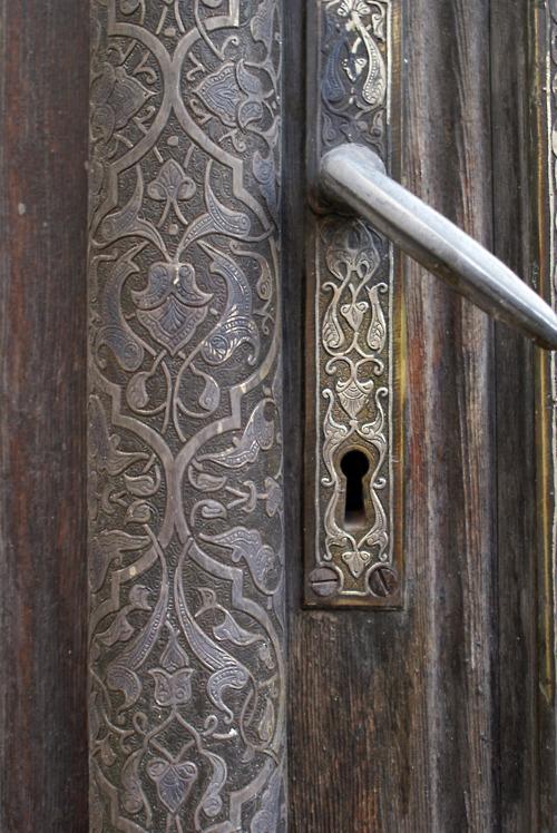 дверь ручка замок