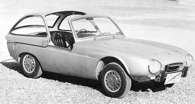 Toyota Publica Sports, 1962