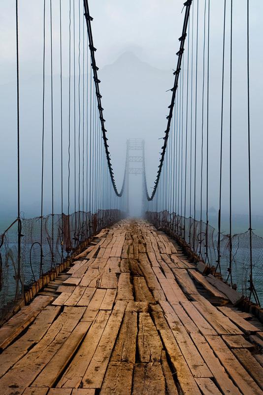 мост на ремонте