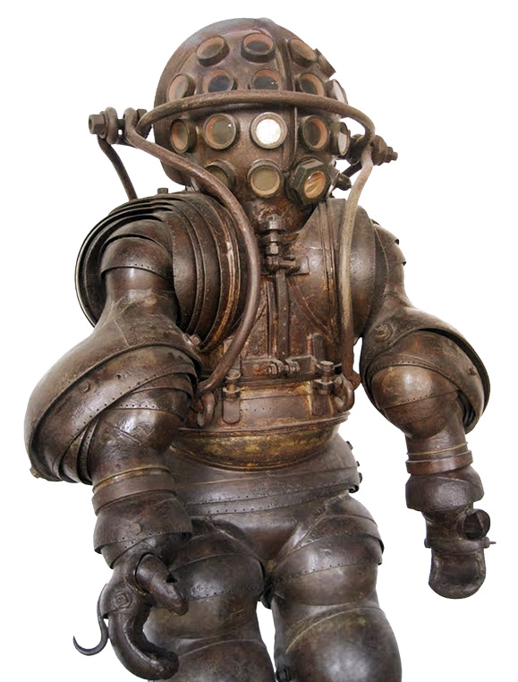 Armored Diving Suit, France 1878