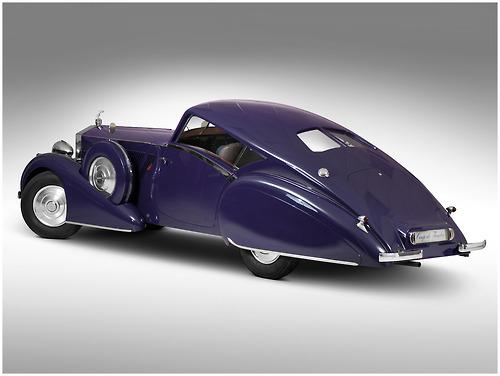 1937 phantom rolls royce aero coupe
