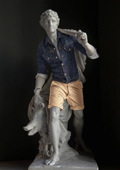 скульптура А