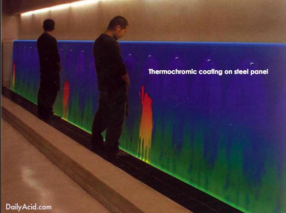 термокраска меняющая цвет