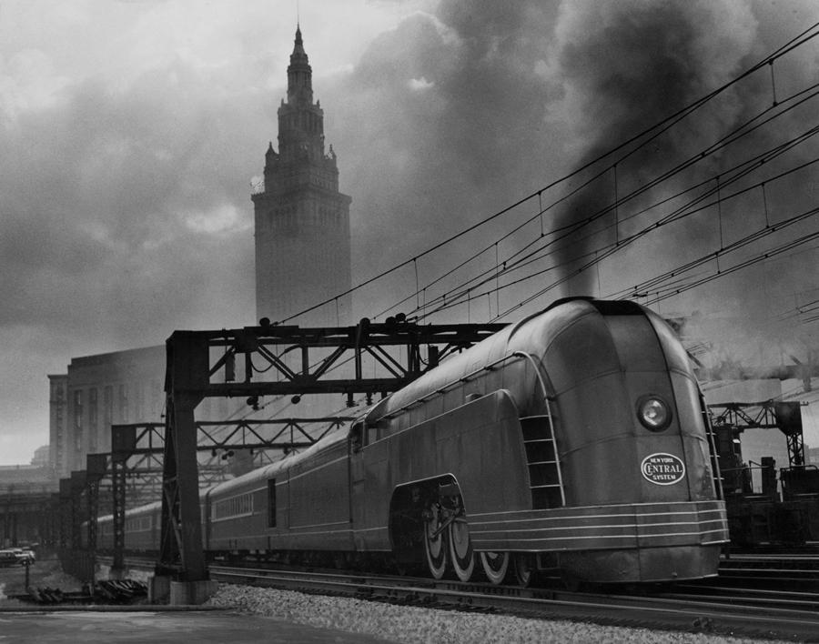 New York Central Mercury train, November 1936