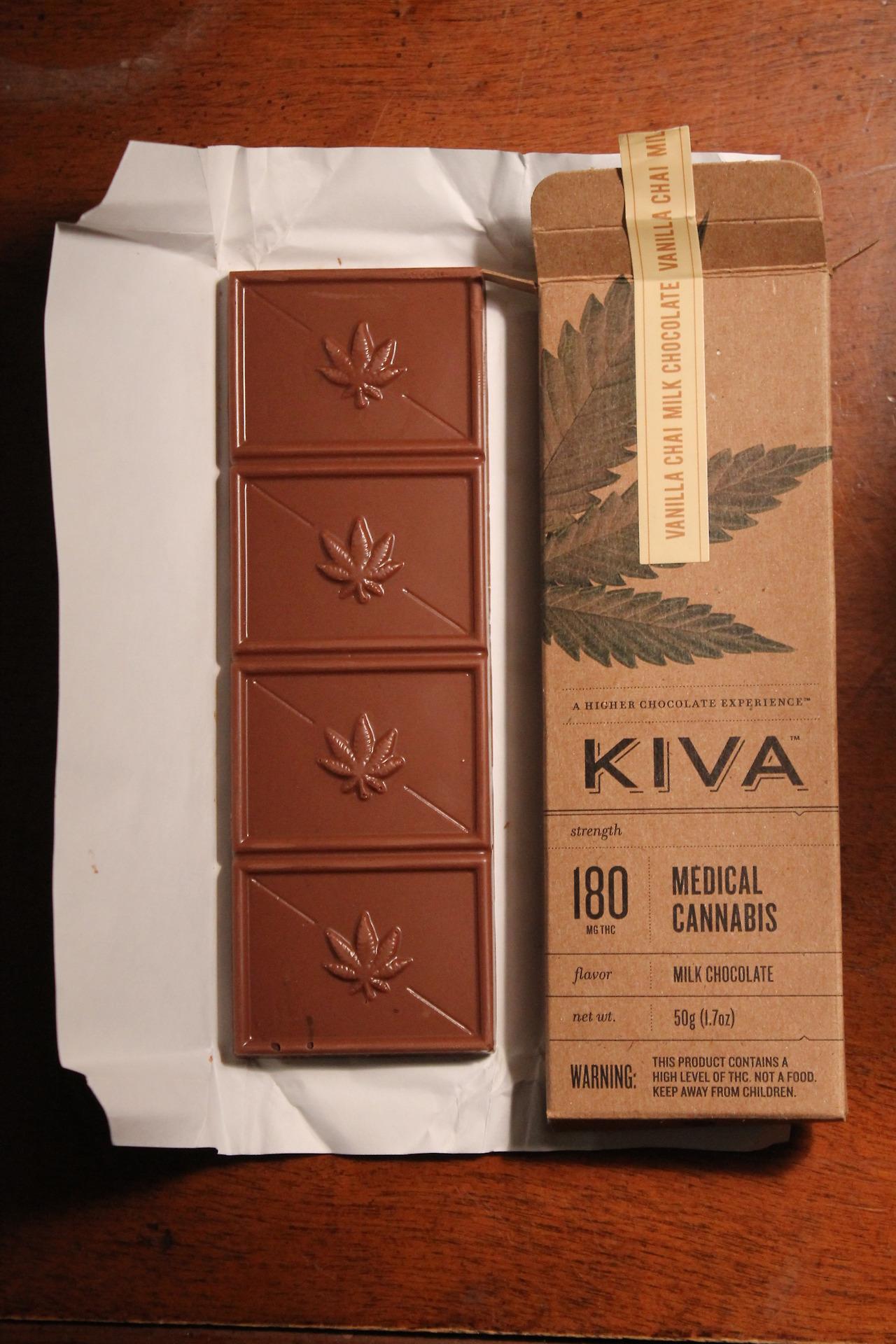 конопляный шоколад