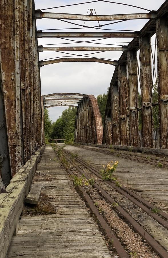 Abandoned Rail Bridge, Finland