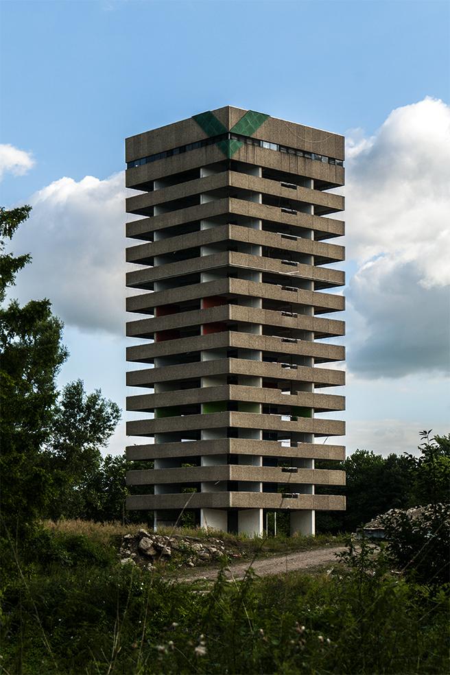 Groningen, 1969-81 заброшено и не странно