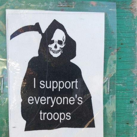 поддерживаю войска кого угодно