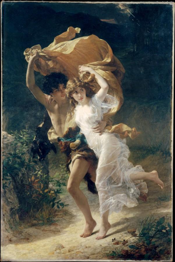Pierre Auguste Cot, The Storm, 1880