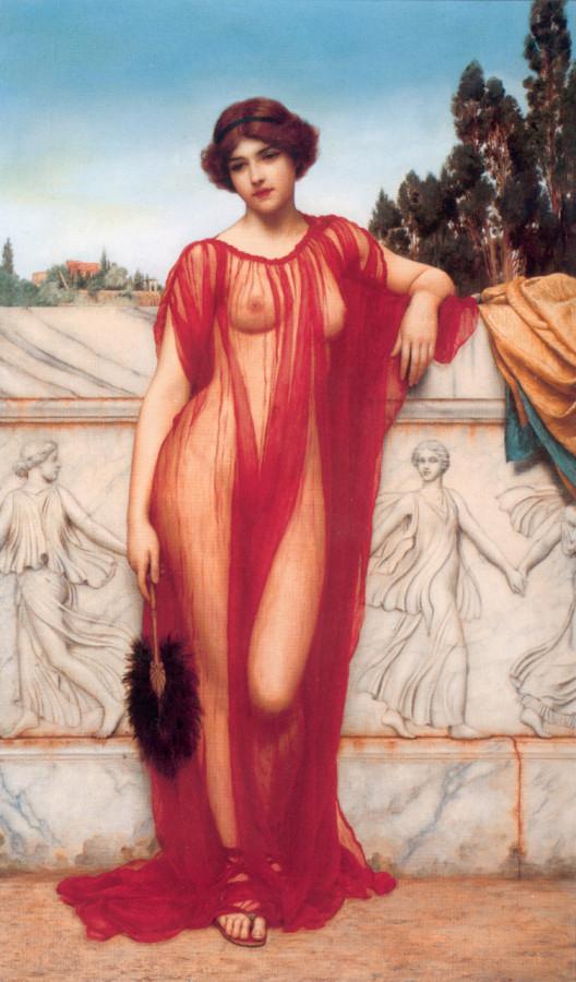 John William Godward Athenais, 1908.